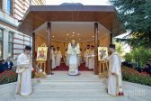 Bishop Ieronim of Sinaia Delivers a Sermon on St. Nectarios of Aegina at Radu Voda Monastery…