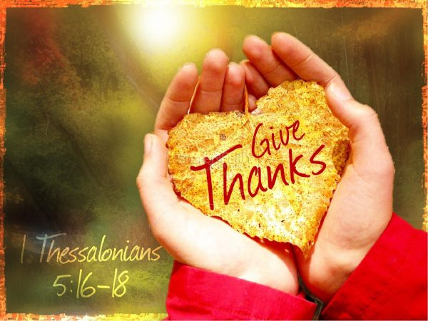 Why Is It Important to Give Thanks?