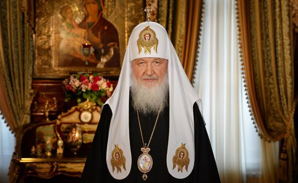 His Holiness Patriarch Kirill Sends Christmas Greetings to Heads of non-Orthodox Churches