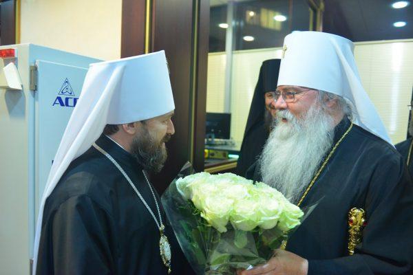 Metropolitan Tikhon to Celebrate 25th Anniversary of Representation Church in Moscow
