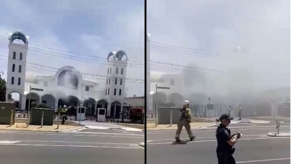 Greek Orthodox Church of the Nativity of Christ Goes up in Flames