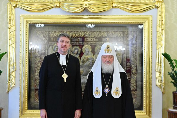Patriarch Kirill Meets with Archbishop of Estonian Evangelical Lutheran Church