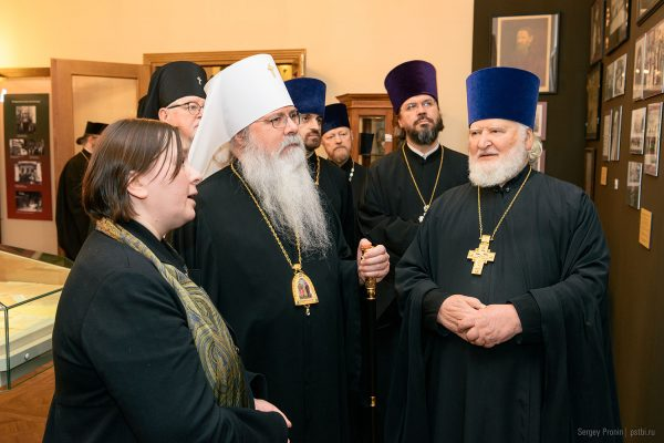 Metropolitan Tikhon Presides over a Symposium on the Life of the Orthodox Church in America