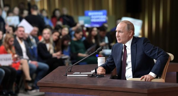 Vladimir Putin: If You Help At Least One Child, the Lord Will Remember You