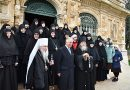 Prince Charles visits the Russian Convent of St Mary Magdalene, Equal-to-the-Apostles in Gethsemane