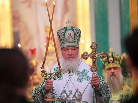 Patriarch Kirill Congratulates all the Faithful on the Nativity of Our Lord