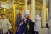Metropolitan Hilarion: Without Baptismal Font One Cannot Become a Member of the Church