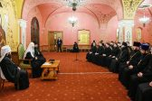 Patriarch Kirill Meets with Rector and Students of Kiev Theological Schools