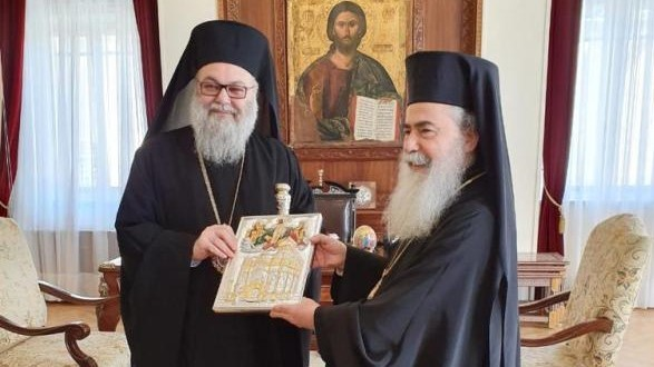 Jerusalem Patriarch: Concrete Understanding with Antioch over Qatar. 'Our Orthodox Unity is Most Precious'
