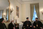 Metropolitan Tikhon Meets With Representatives of Serbian Orthodox Church