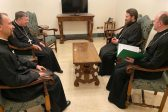 Metropolitan Hilarion of Volokolamsk Meets with Cardinal Kurt Koch