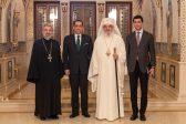 New Jordanian Ambassador Meets Patriarch Daniel at Patriarchal Residence
