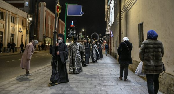 Religious Processions for Deliverance from Coronavirus Take Place in Moscow Daily