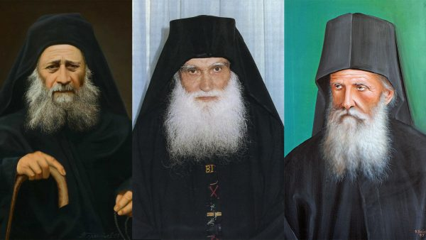 Three Athonite Elders Officially Included in the Calendar of the Church