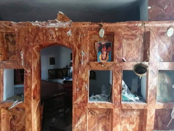 Greek Orthodox Church on Lesvos Island Destroyed by Vandals
