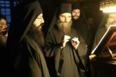 Monks on Mount Athos Pray to the Most Holy Theotokos and Saint Charalambos to End the Pandemic