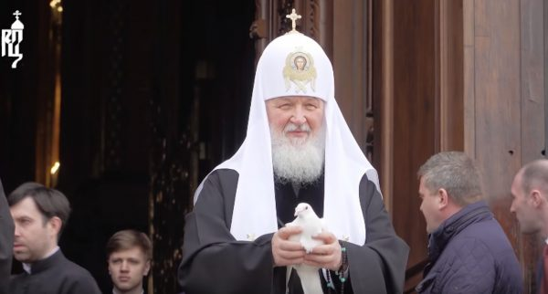 On the Feast of the Annunciation, Patriarch Kirill Prays for Deliverance from Coronavirus