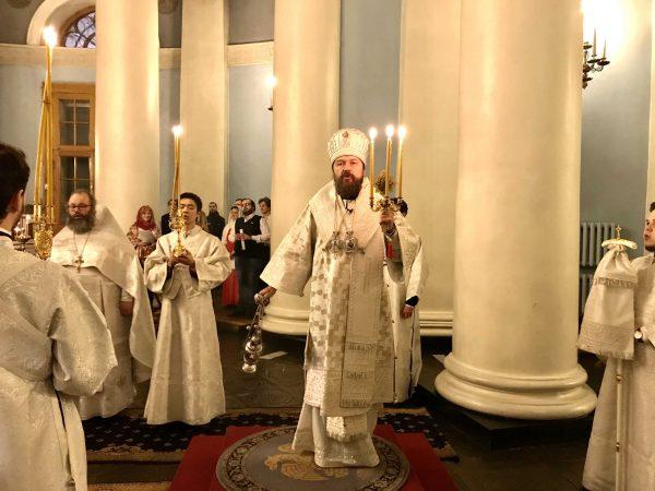 Paschal Homily of Metropolitan Hilarion of Volokolamsk