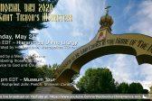 Metropolitan Tikhon to Serve Divine Liturgy for Memorial Day – Live-Stream Available