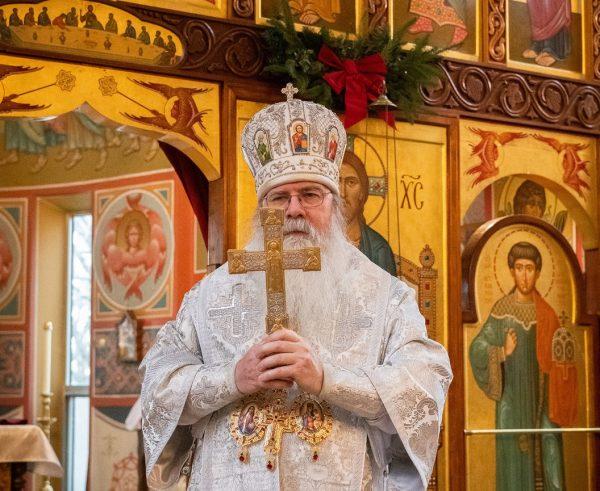 His Beatitude Metropolitan Tikhon Celebrates the Feast of Holy Ascension
