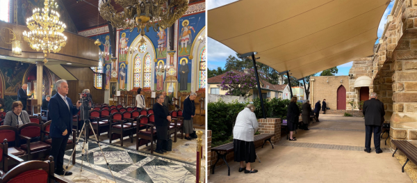 Parishioners Rejoice as Greek Orthodox Churches Reopen in Australia