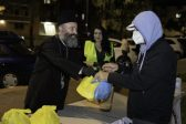 "Archbishop Makarios Joins Liverpool Greek Orthodox Church for New ""Homeless Feed"" Program"