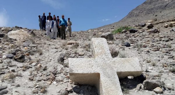 Ancient Christian Cross Found in Northern Pakistan