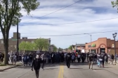 Army of Milwaukee Protesters Sing Worship Song 'Way Maker'