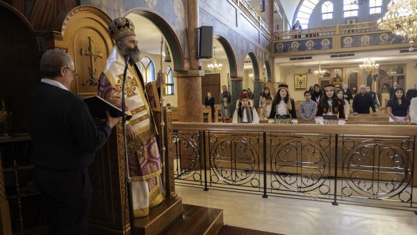 Archbishop Makarios Presides over Celebration of Holy Pentecost in Sydney
