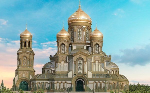 Main Church of the Armed Forces of Russia to Be Consecrated on June 22