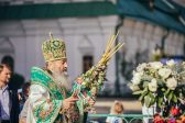 Metropolitan Onuphry Prayerfully Celebrates His Name's Day Today