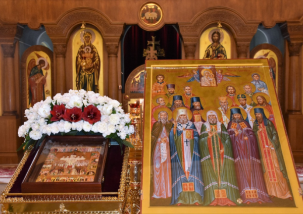 Memory of Russian and American Saints Honoured at Moscow Representation of OCA