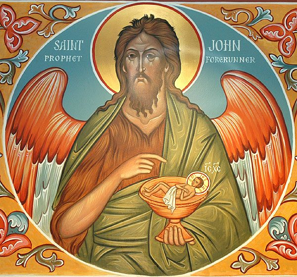 Homily for the Nativity of St. John the Baptist