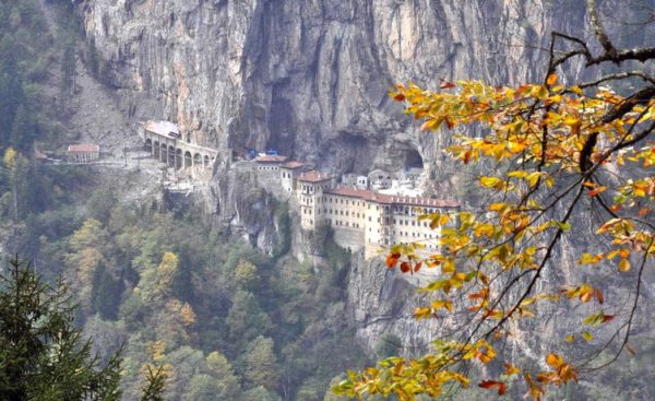 Erdogan Reopens Turkey's Sumela Monastery After Restoration