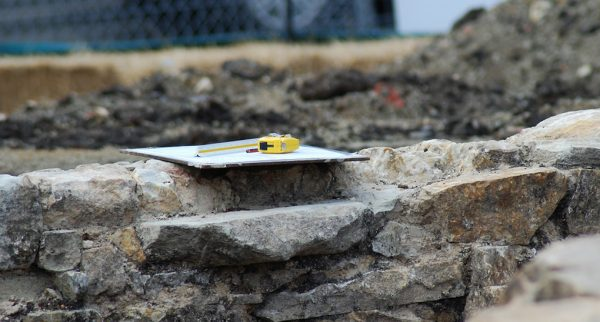 Foundation of Ancient Church Unearthed in Novgorod