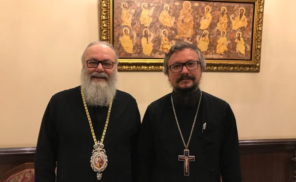Primate of Orthodox Church of Antioch Meets with Representative of Patriarch of Moscow and All Russia