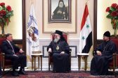 Patriarch of Antioch Meets with ROC Representative and Ambassador of Russian Federation