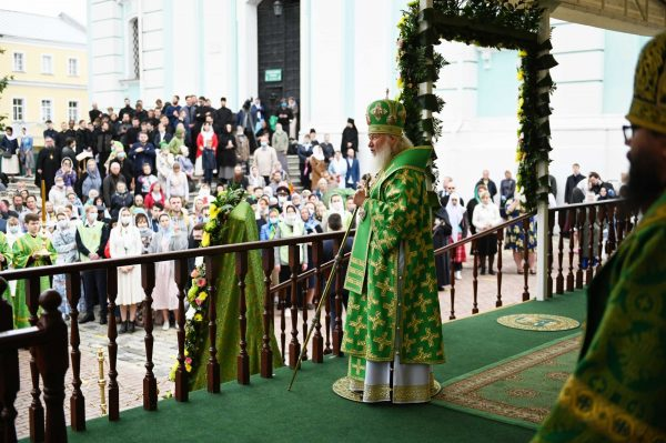 Patriarch Kirill: God Willing the Main Lesson of the Pandemic Will Be the Renewal of Faith