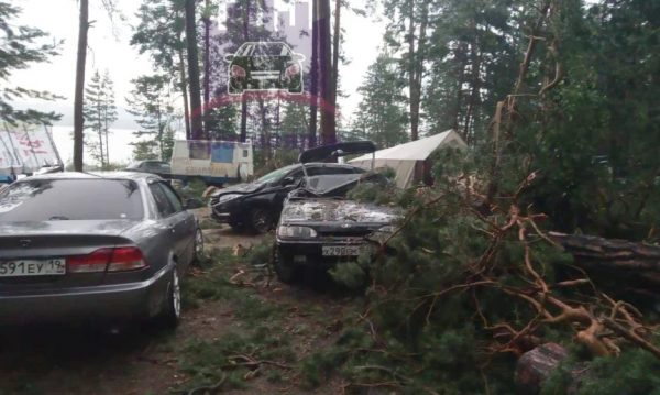 """The Wind Crashed the Tent, in Which Children Were."" Storm Hit on a Tourists Camp In Krasnoyarsk Region"