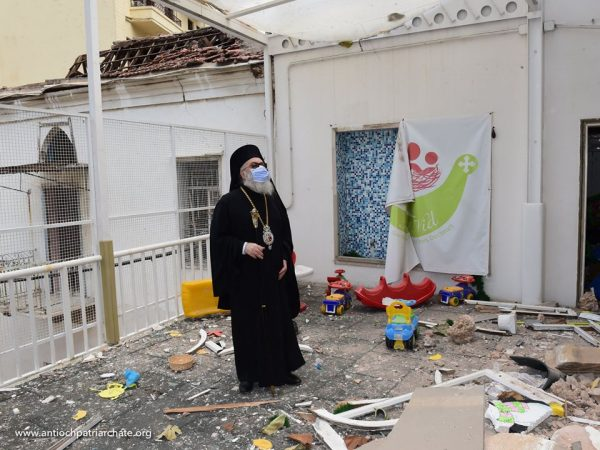 Patriarch John of Antioch: We Are Holding Beirut in Our Hearts