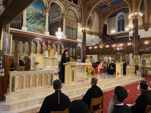 Metropolitan JOSEPH Urges Love, Cooperation of All People Following Beirut Blast