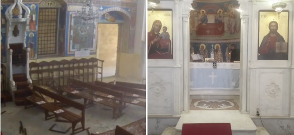 Altar at St Dimitrios Greek Orthodox Church in Beirut Survived the Explosion [VIDEO]