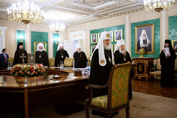 Briefly About the Main Decisions of Yesterday's ROC Holy Synod Session