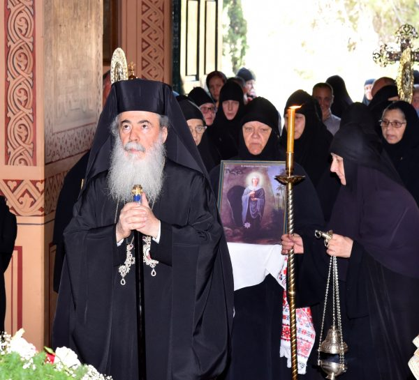 His Beatitude Patriarch Theophilos III Visits Russian Gethsemane on Its Feast Day