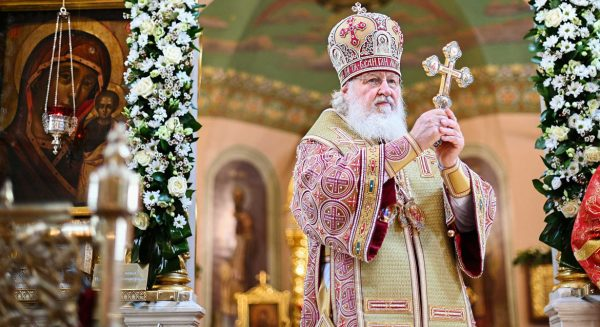 Today is the 12th Anniversary of Patriarch Kirill's Enthronement