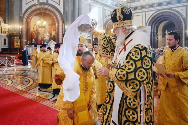 Patriarch Kirill Elevated Bishop Veniamin, Patriarchal Exarch of All Belarus, to the Rank of Metropolitan