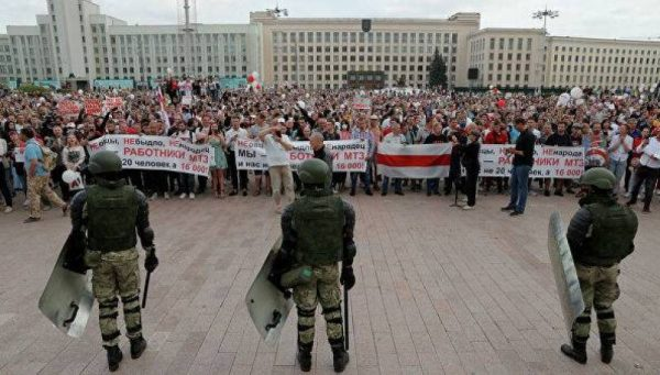 Churches of the Eastern American Diocese Pray for Peace in Belarus