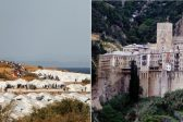 243 Refugees in Lesvos Test Positive for COVID-19, while Mt Athos Monastery Quarantined