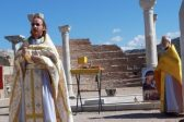Divine Liturgy Held at Burial Place of St. John the Theologian near Ephesus