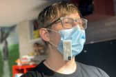 School Student Invents Gadget that Says When It's Time to Change a Mask